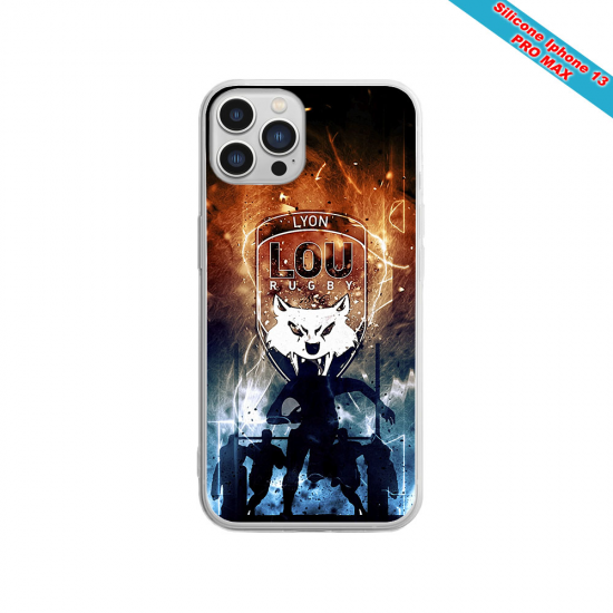 Coque silicone Huawei P40 Pro Fan de Sons Of Anarchy obsidienne