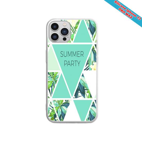 Coque silicone gravure sur bois Méduse