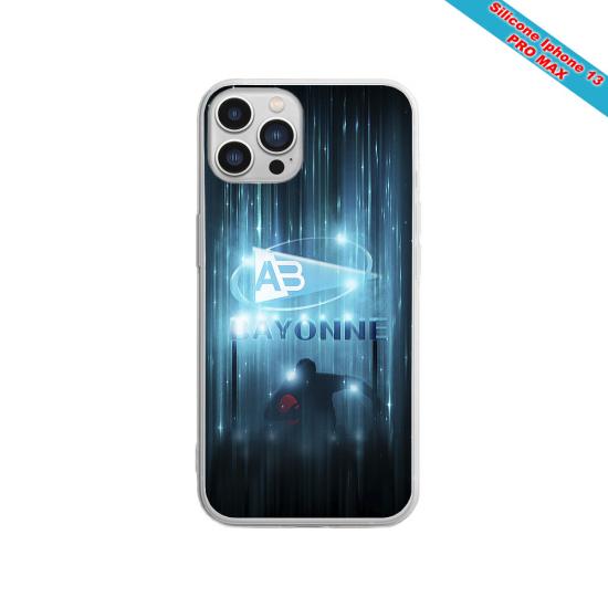 Coque silicone gravure sur bois winter lama