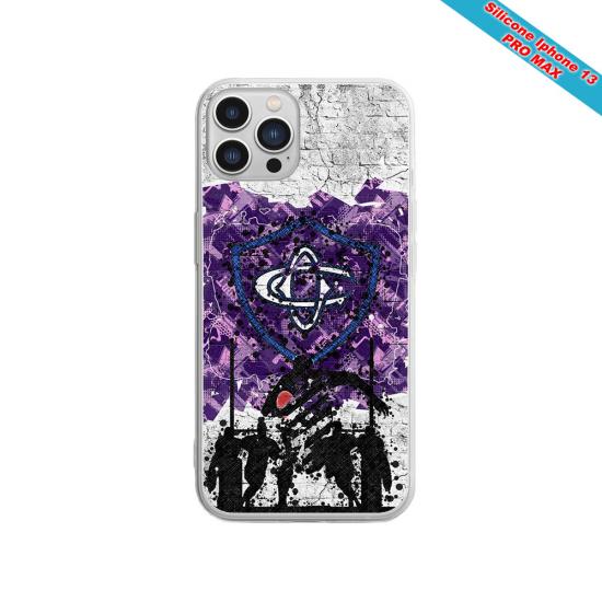 Coque silicone gravure sur bois forme
