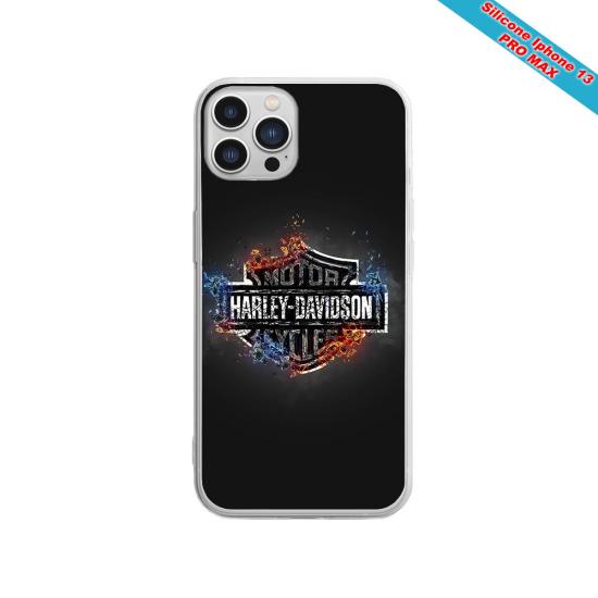 Coque Iphone et Samsung en bois moto