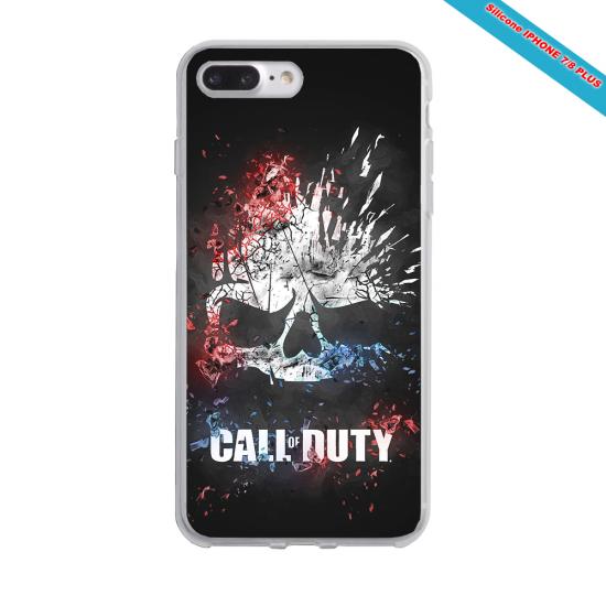 Coque Iphone et Samsung en bois Tête de cheval