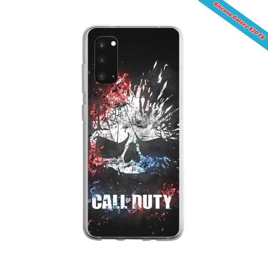 Coque Iphone et Samsung en bois Libellule
