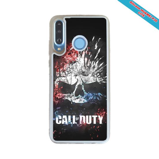 Coque Iphone et Samsung en bois Fleurs avec un oiseau