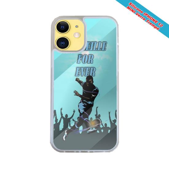 Coque Iphone et Samsung en bois Araignée robot