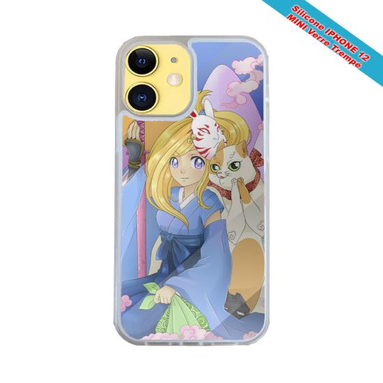 Coque Iphone et Samsung en bois Moto vintage