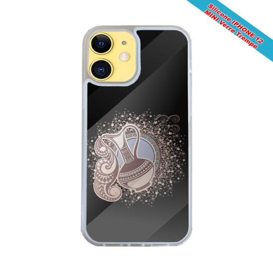 Coque silicone gravure sur bois Carpe