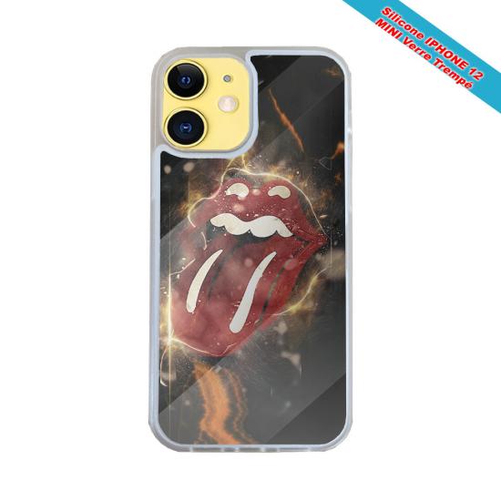 Coque Iphone et Samsung en bois Fée à genoux