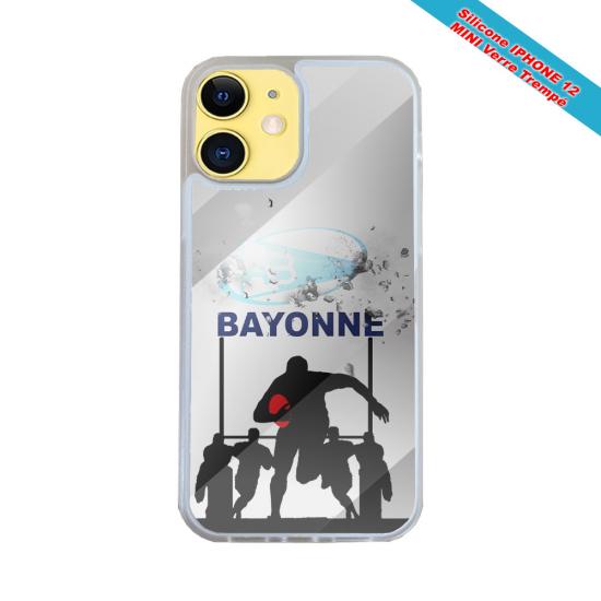 Coque Iphone et Samsung en bois Sihouette Papillon