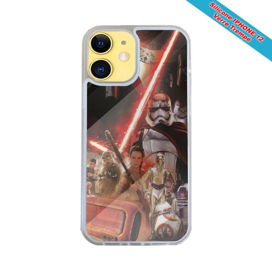 Coque Iphone et Samsung en bois Girafe