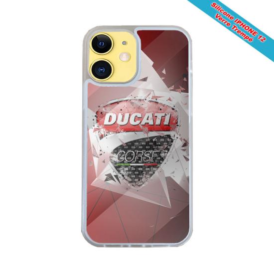 Coque IPhone silicone gravure sur bois Roi Viking