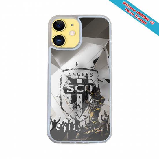 Coque IPhone silicone gravure sur bois Life is Beautiful
