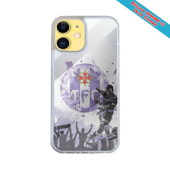 Coque IPhone silicone gravure sur Girafe