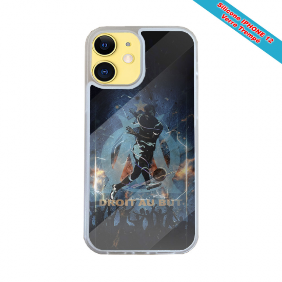 Coque IPhone silicone gravure sur Queue de Baleine