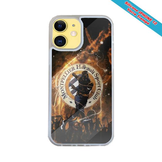 Coque Silicone iphone 5/5S/SE Fan de Harley davidson obsidienne