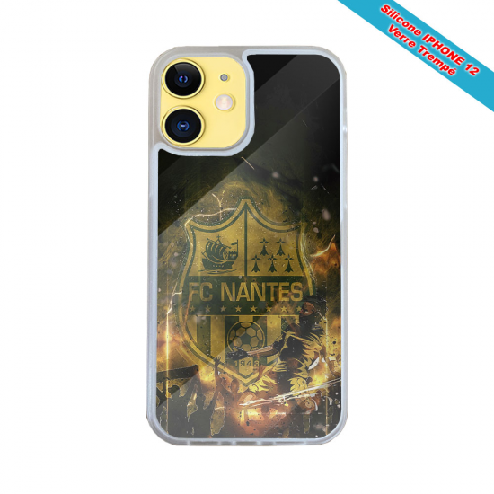 Coque Silicone iphone 5C Fan de Harley davidson obsidienne