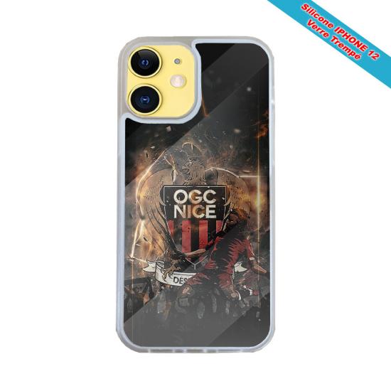 Coque silicone Iphone 6/6S Fan de Harley davidson obsidienne