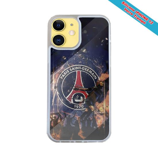 Coque silicone Iphone 6 PLUS Fan de Harley davidson obsidienne
