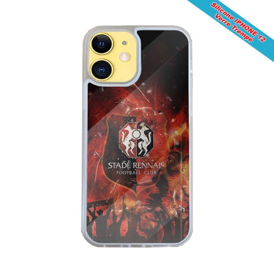 Coque Silicone iphone 7/8 Fan de Harley davidson obsidienne