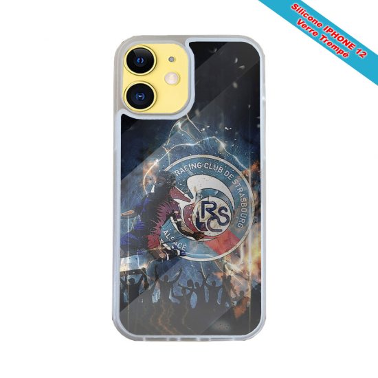 Coque Silicone iphone 7/8 PLUS Fan de Harley davidson obsidienne