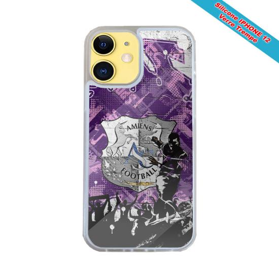 Coque silicone Iphone X/XS Fan de Harley davidson obsidienne