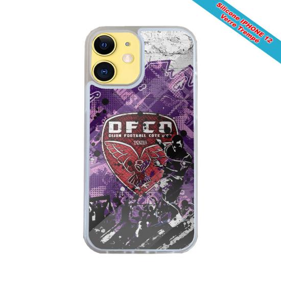 Coque silicone Iphone XR Verre Trempé Fan de Harley davidson obsidienne