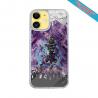 Coque silicone Iphone 11 Fan de Harley davidson obsidienne
