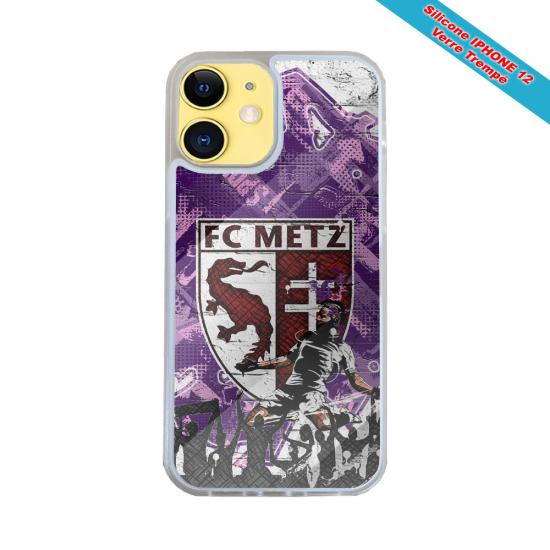Coque silicone Iphone 11 verre trempé Fan de Harley davidson obsidienne