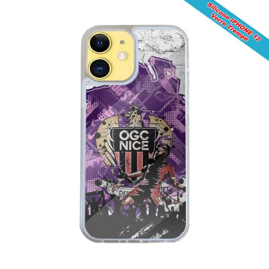 Coque silicone Iphone SE 2020 Fan de Harley davidson obsidienne