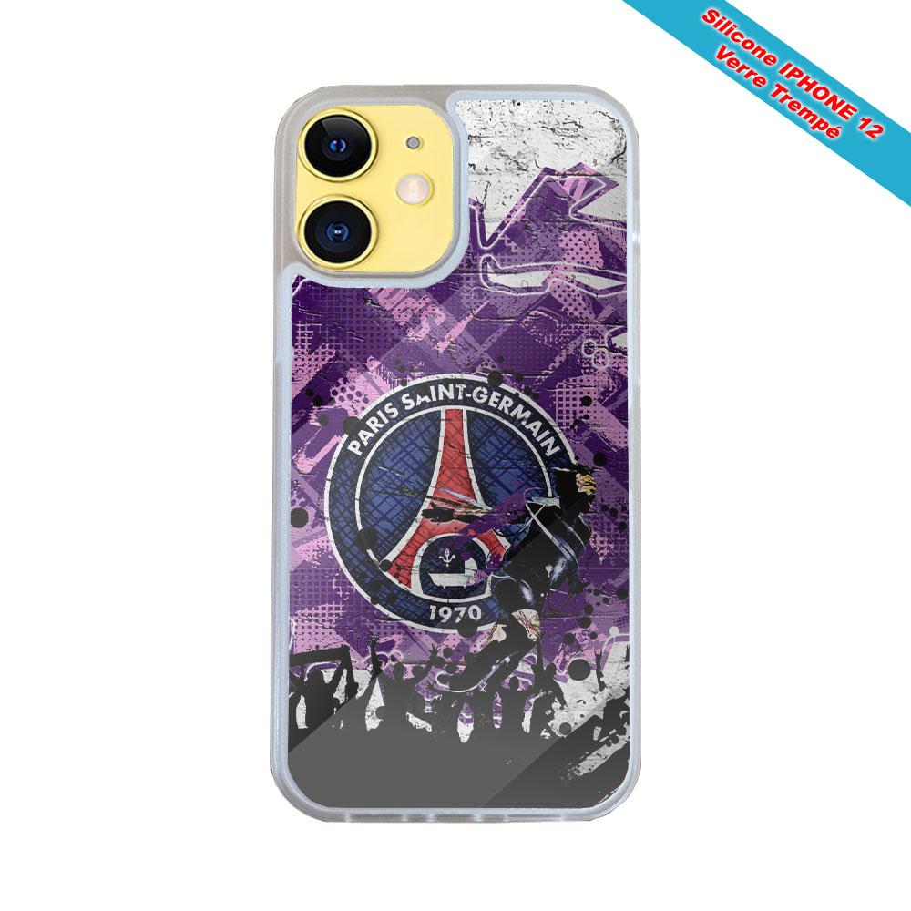 Coque silicone Iphone 12 Mini Fan de Harley davidson obsidienne
