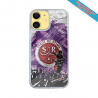 Coque silicone Iphone 12 Fan de Harley davidson obsidienne