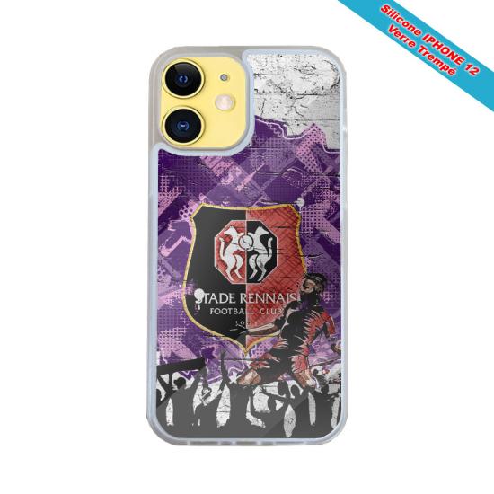 Coque silicone Iphone 12 PRO Fan de Harley davidson obsidienne