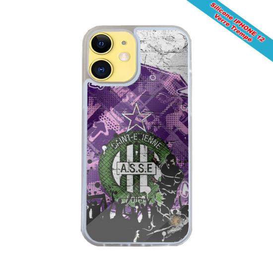 Coque silicone Iphone 12 PRO MAX Fan de Harley davidson obsidienne