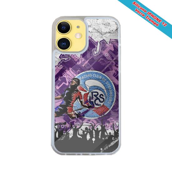 Coque silicone Galaxy A10 Fan de Harley davidson obsidienne