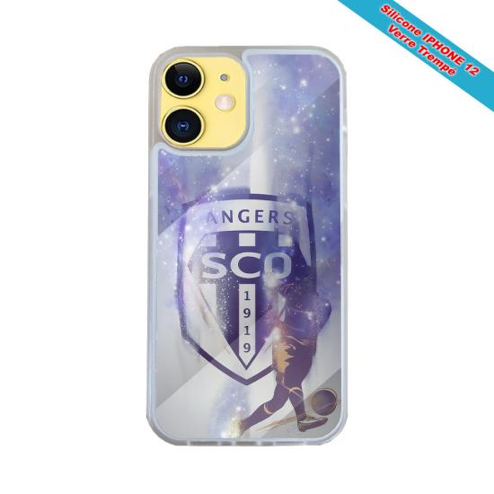 Coque silicone Galaxy A20-A30 Fan de Harley davidson obsidienne