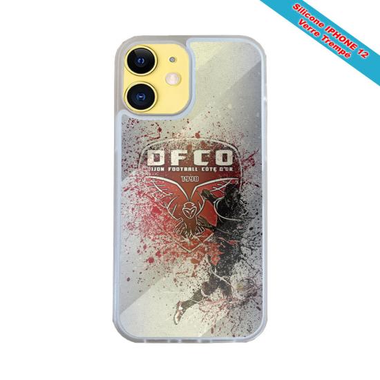 Coque silicone Galaxy J6 PLUS Fan de Harley davidson obsidienne