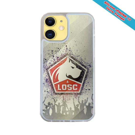 Coque silicone Galaxy J7 2016 Fan de Harley davidson obsidienne