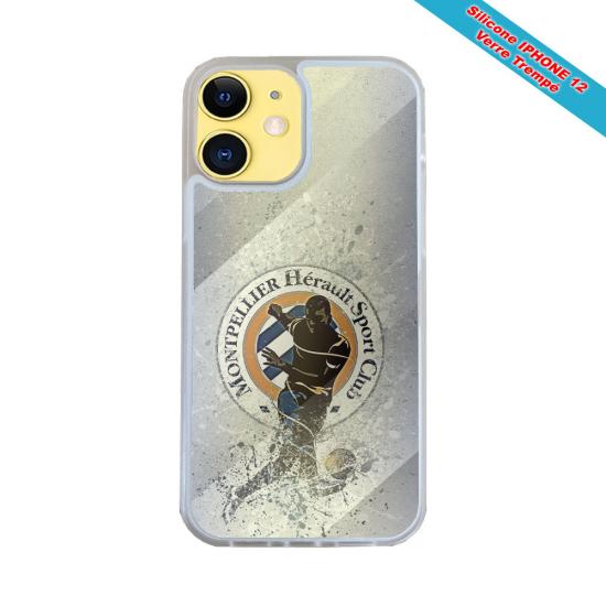 Coque silicone Galaxy M11 Fan de Harley davidson obsidienne