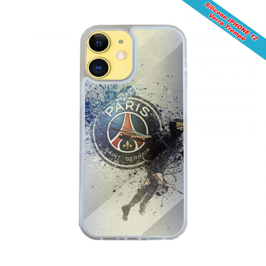 Coque Silicone Galaxy S6 Fan de Harley davidson obsidienne