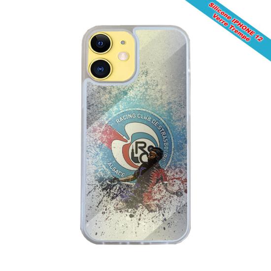 Coque Silicone Galaxy S8 Fan de Harley davidson obsidienne