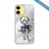 Coque Silicone Galaxy S8 PLUS Fan de Harley davidson obsidienne