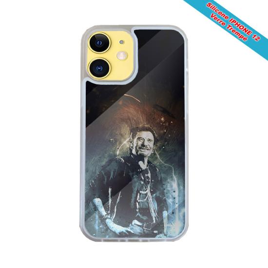 Coque Silicone Galaxy S9 PLUS Fan de Harley davidson obsidienne