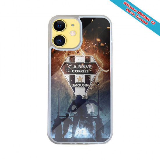 Coque Silicone Galaxy S10E Fan de Harley davidson obsidienne