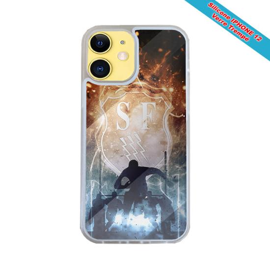 Coque Silicone Galaxy S20 ULTRA Fan de Harley davidson obsidienne