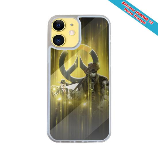 Coque Silicone Note 9 Fan de Harley davidson obsidienne