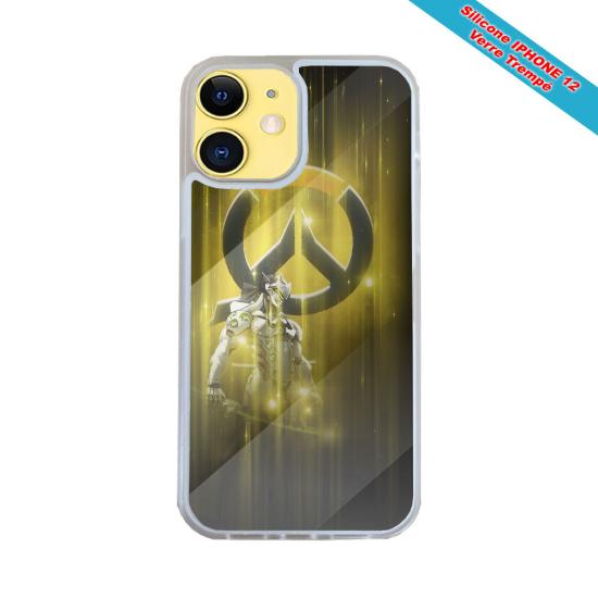 Coque silicone Huawei P8 lite Fan de Harley davidson obsidienne