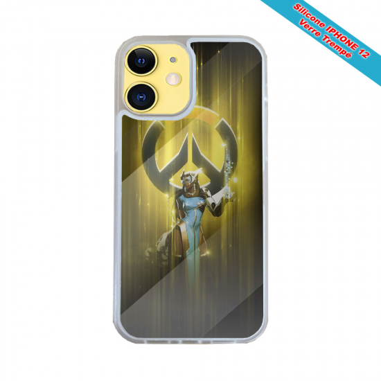 Coque silicone Huawei P30 Verre trempé Verre trempé Fan de Harley davidson obsidienne