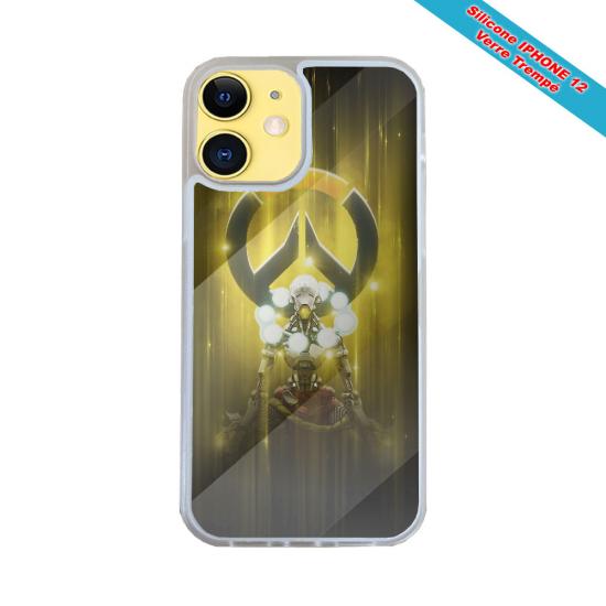 Coque silicone Huawei P40 Lite E Fan de Harley davidson obsidienne