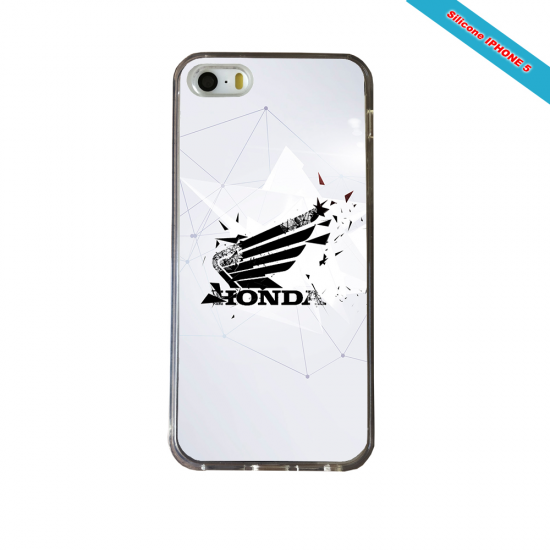 Coque silicone Galaxy NOTE 7 Fan de Rugby Montpellier Géometrics