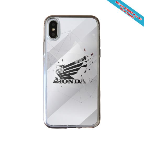 Coque silicone Galaxy NOTE 7 Fan de Rugby Castres Destruction